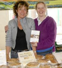 Taste of the Moorlands stall